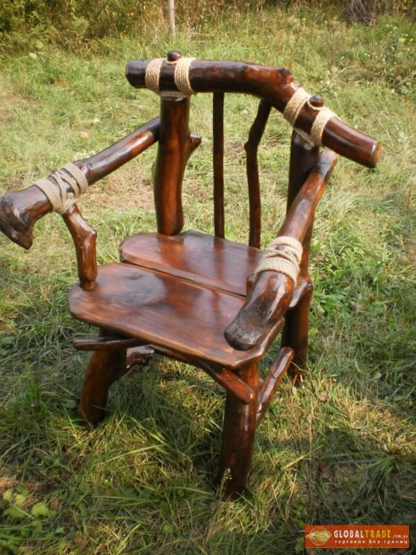 Мебель из веток и коряг своими руками