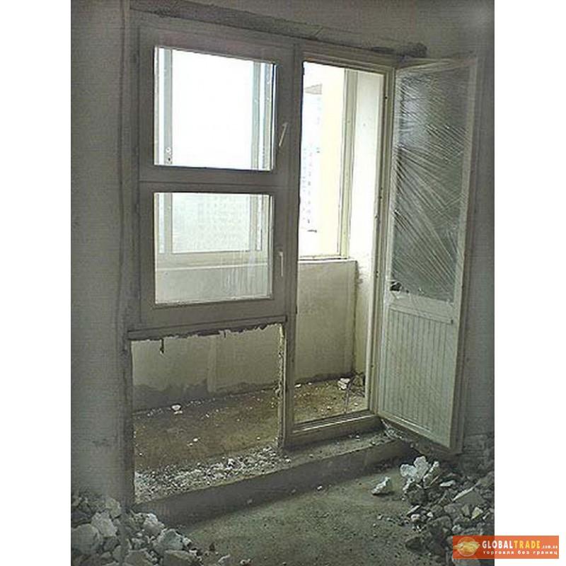 Демонтаж бетонного порога (балкон) днепропетровск - globaltr.