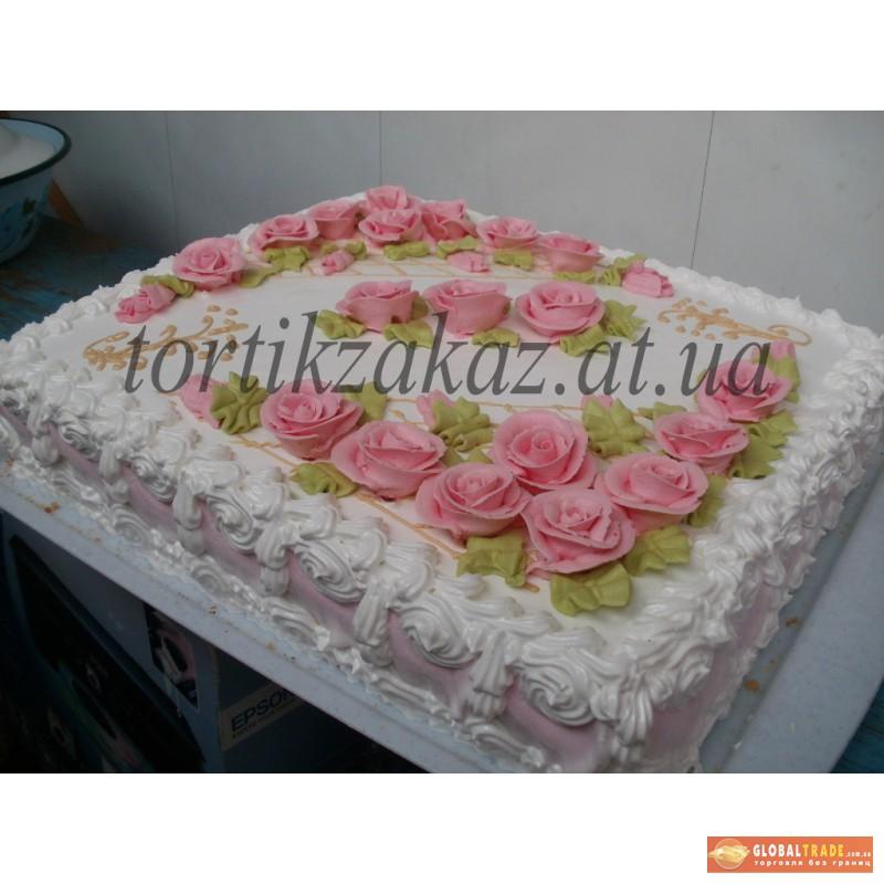 Торт квадратный в домашних условиях 547