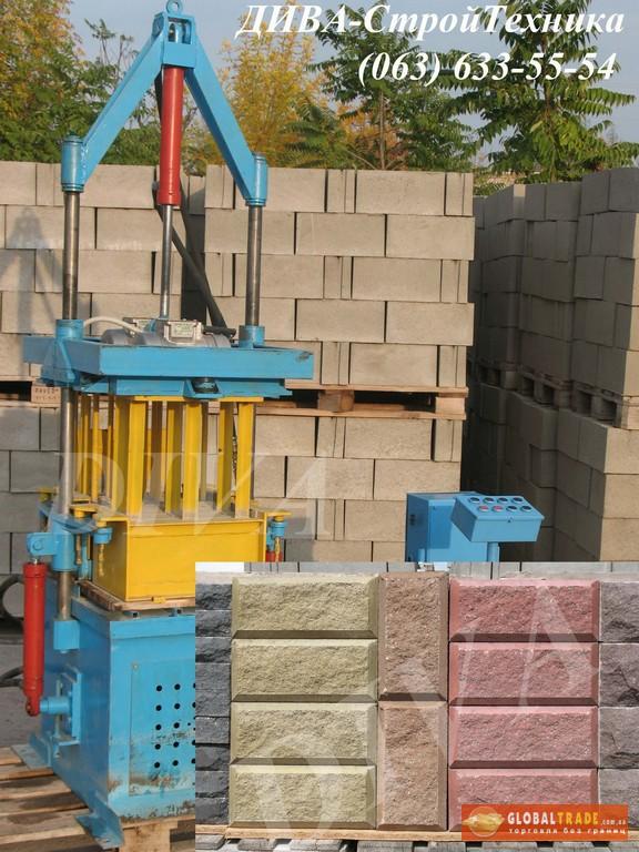 Виброформа для блоков